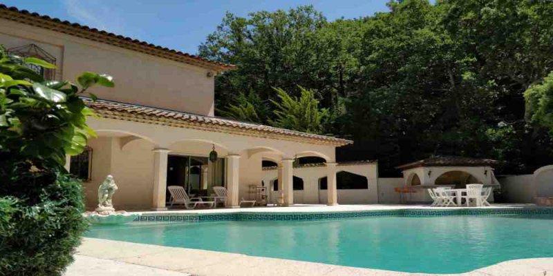 Location villa 8 pieces de 324 m2 06210 mandelieu la napoule 4990 belle villa independante - Cabinet bourgeois cannes ...